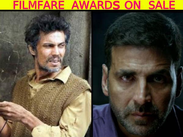 FILMFARE AWARDS ON SALE: Twitterati Trolls Filmfare For IGNORING Akshay Kumar