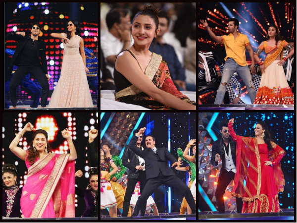 WOW PICTURES! Best Moments Of Katrina, Akshay, Ranveer, Anushka, Sidharth & Alia From UMANG 2017!