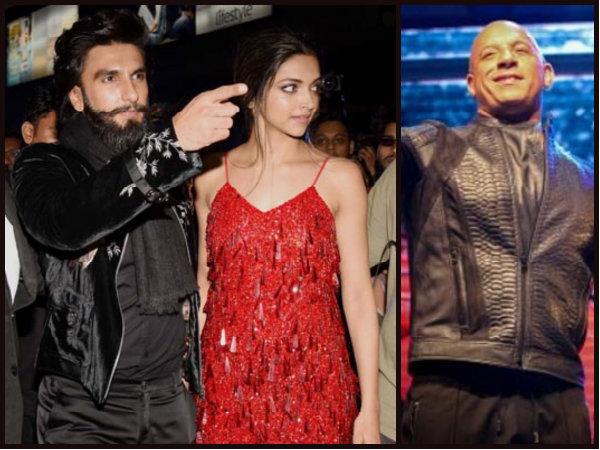 Oops! Vin Diesel Refers Ranveer Singh As Deepika Padukone's 'Boyfriend'