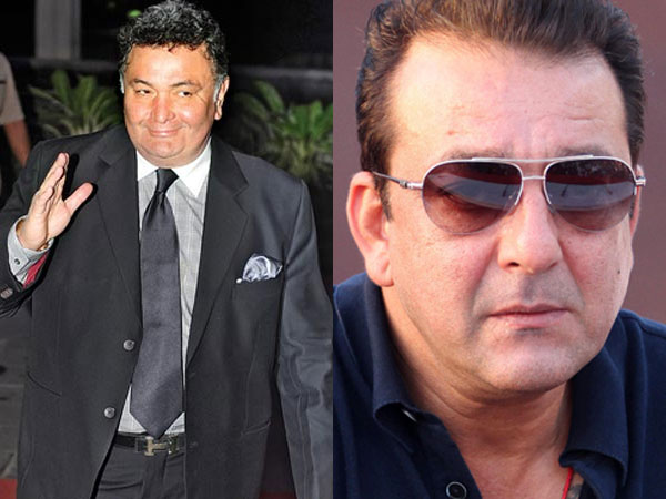 OMG! When Sanjay Dutt Thought Rishi Kapoor Was Having An Affair With His Girlfriend Tina Munim