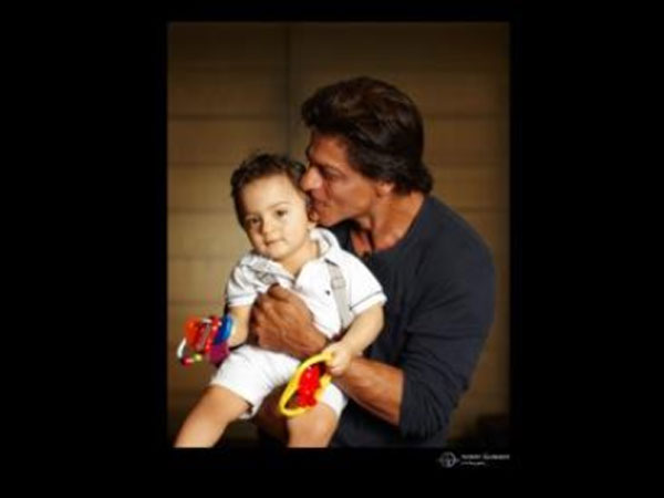 SRK's Little Darling AbRam's First Picture