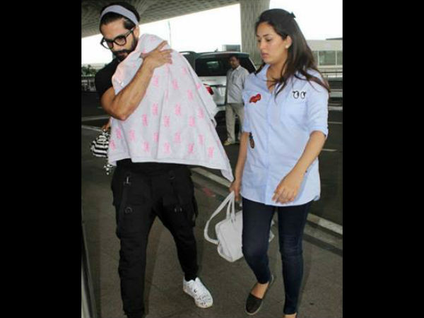 Shahid Is A Protective Dad