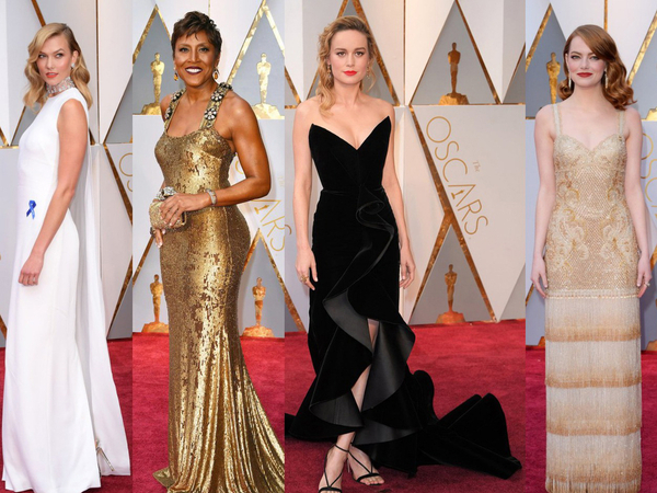 Oscars 2017: The Boldest Red Carpet Appearances