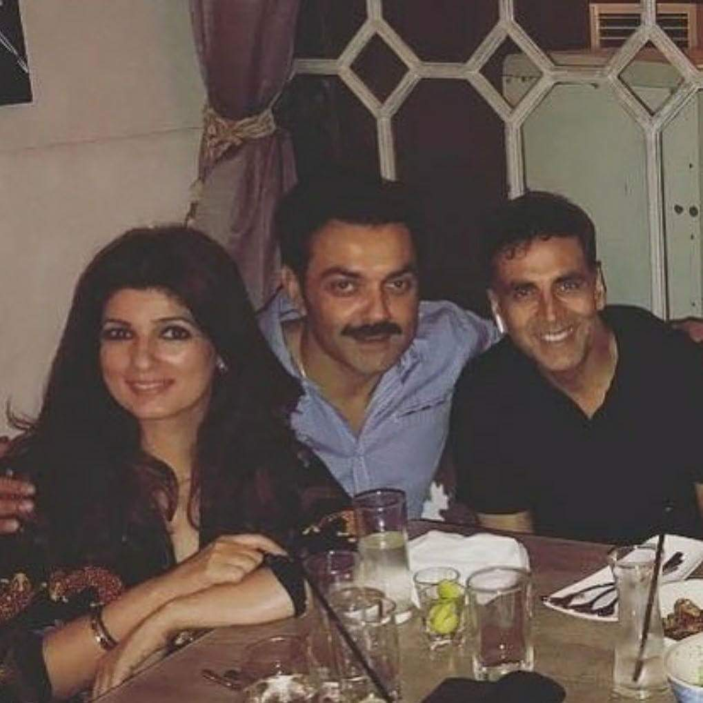 Akshay, Twinkle With Bobby