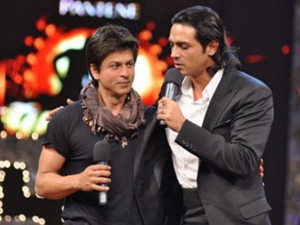SRK On His Fight With Arjun Rampal
