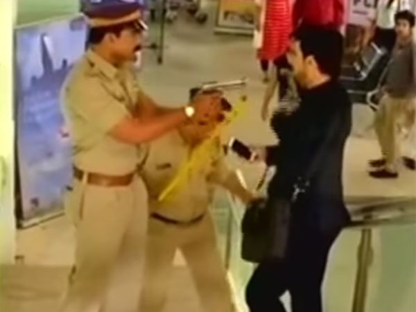 Raghav Caught By The Cops