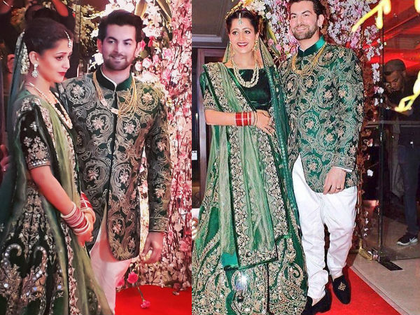 Neil Nitin Mukesh marries Rukmini, Big B, Salman Khan bless the couple