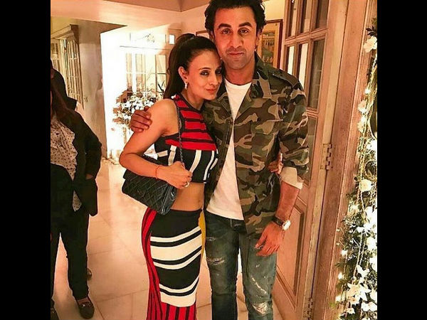 Ranbir With Ameesha