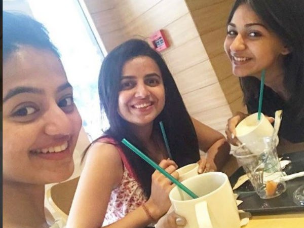 Vidhi Pandya With Helly