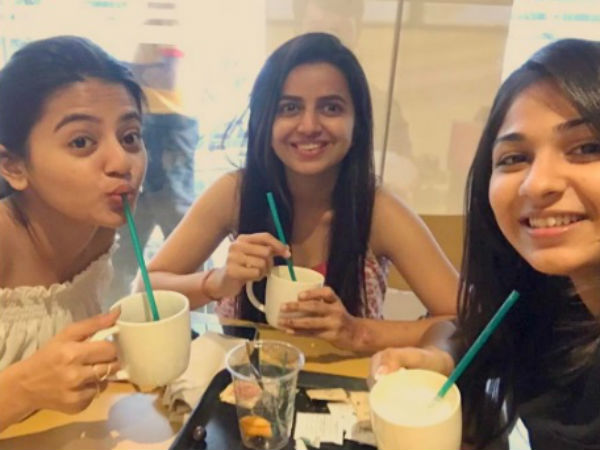 Bhavini Purohit With Helly