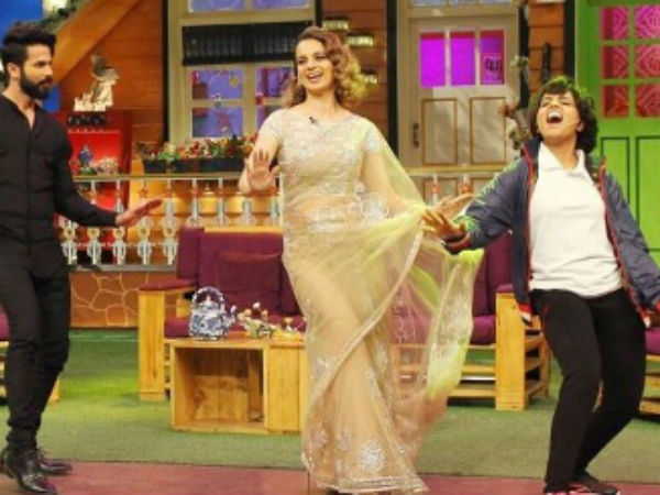 Sugandha & Kangana On TKSS