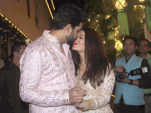 Abhishek Shares A Priceless Moment With Wifey