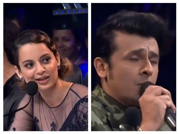 Kangana's Request For Sonu Nigam