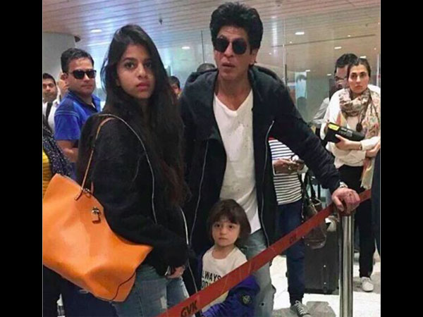 SRK Loves AbRam's Company