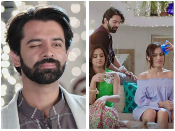 9. Haider Teases Meera In Front Of Her Friends