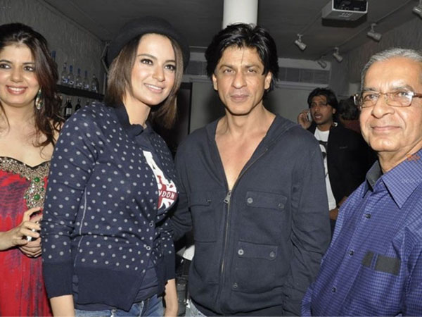 When Kangana Revealed The Details About SRK's Film