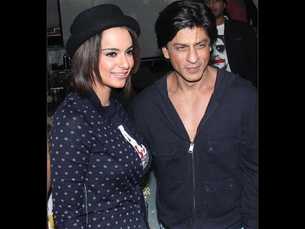 Shahrukh Rejects Kangana