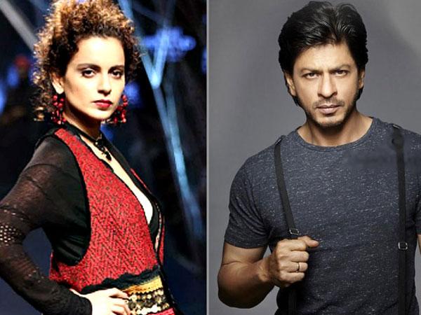 Is This Her REVENGE? Kangana Ranaut Says 'NO' To Working With Shahrukh Khan!