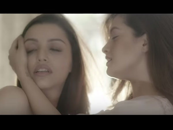 Reema Sen Lesbian Kiss