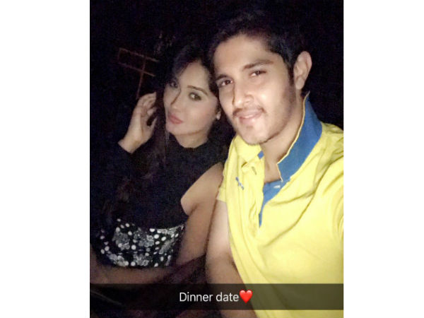 Rohan & Kanchi On A Dinner Date