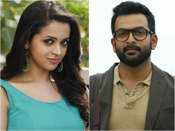 Prithviraj And Bhavana Join Adam