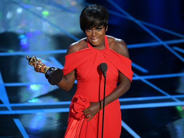 Viola Davis Receives Her First Oscar After Being Nominated Thrice