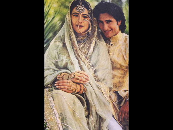 Saif Ali Khan Talks About His First Wife; Says She Gave Him Great Advice When He Entered Bollywood