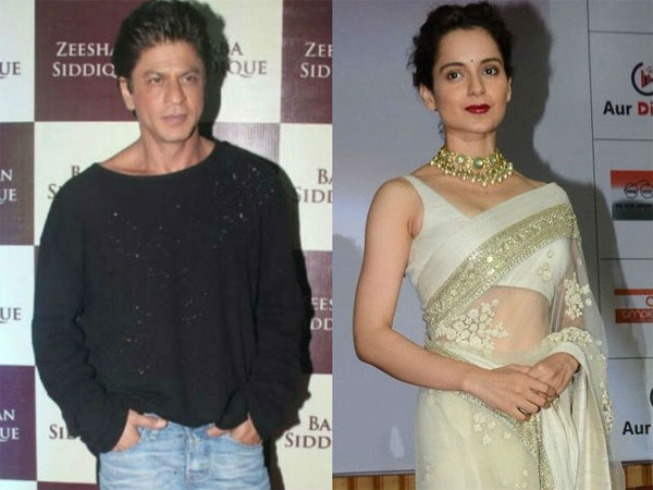 Kangana Ranaut Said She Doesn't Want To Work With KHANS! Shahrukh Took It Seriously & REJECTED Her