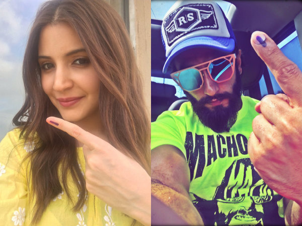 BMC Elections 2017! Anushka Sharma, Ranveer Singh, Shraddha Kapoor & Many Others Cast Their Vote