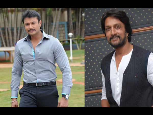 Sudeep And Darshan Support Mithra's Raaga!