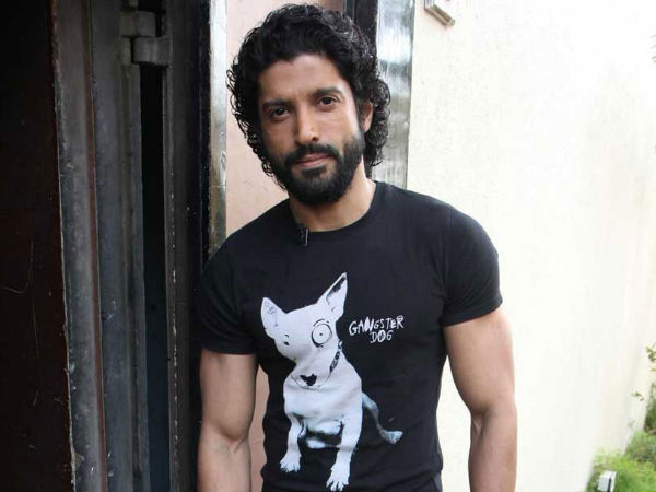 Farhan Akhtar Beard Ruggish Look