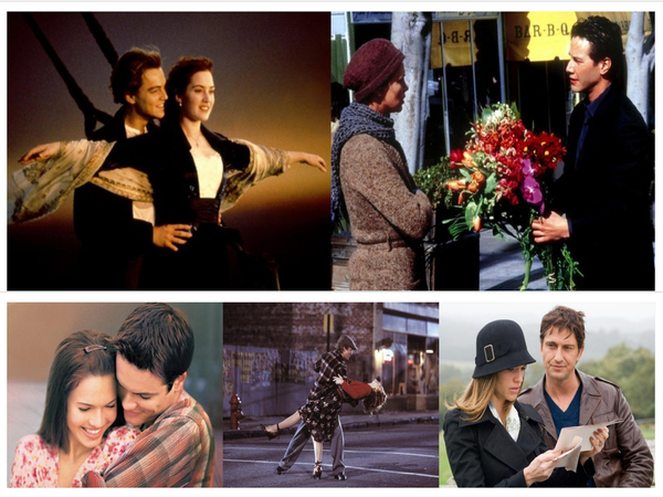 Five Romantic Movies