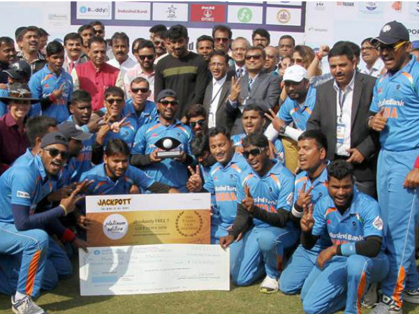 Team India Blind T20 World Cup Win