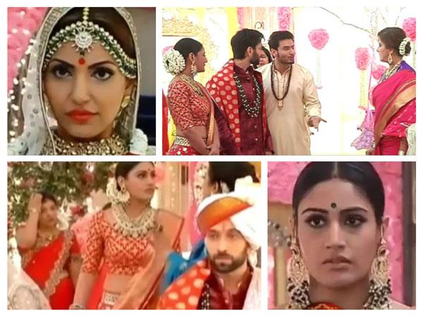 Ishqbaaz SPOILER: WEDDING DRAMA! Tia Exposed;  Shivaay & Anika's Happy Re-union!