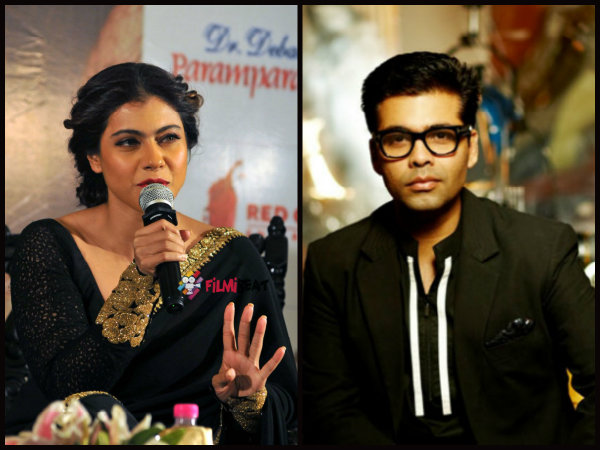 VIRAL: Kajol Speaks For The First Time On Her Ugly Spat With Karan Johar!