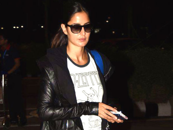 Katrina Kaif Led Zepplin Tshirt Heavy Metal Rock