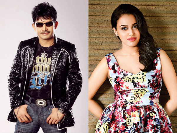 KRK Ticks Off Swara Bhaskar On Twitter! Calls Her Movie A Super Duper Disaster