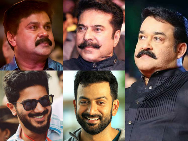 Malayalam Actors' Remuneration 2017: Mohanlal Tops The List!