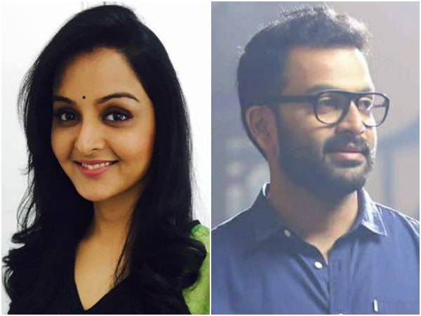 Manju Warrier Has Words Of Praises For Prithviraj!