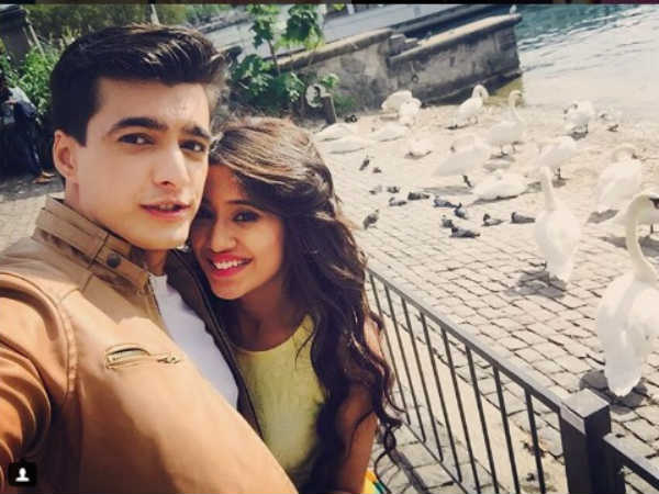 Oh No! Lovebirds of Yeh Rishta Kya Kehlata Hai Mohsin Khan-Shivangi Joshi Are Not Doing Nach Baliye
