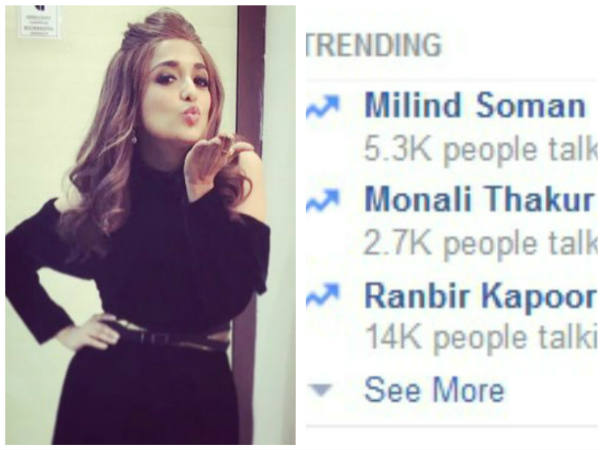 Monali Thakur's Befitting Reply To A Hater Who Trolled Her For Wearing Short Dresses On Rising Star!