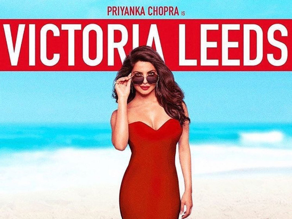 Priyanka Chopra Sizzles In The New Baywatch Poster