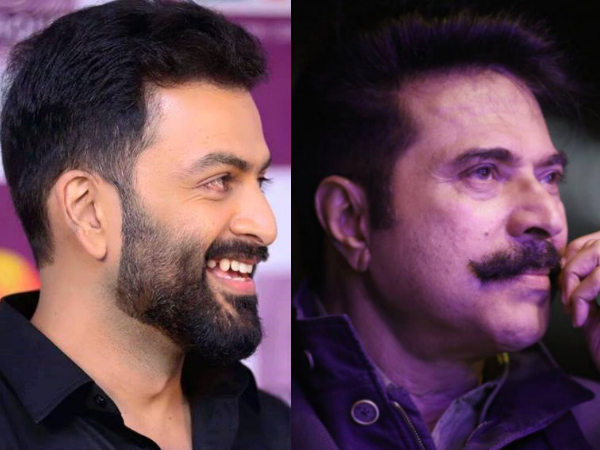 Prithviraj Opens Up About Clash With Mammootty's Karnan!