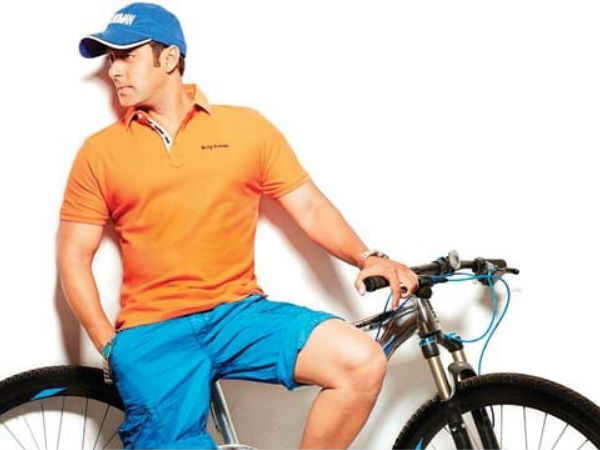 Salman Khan Electric Cycles Being Human Casuals