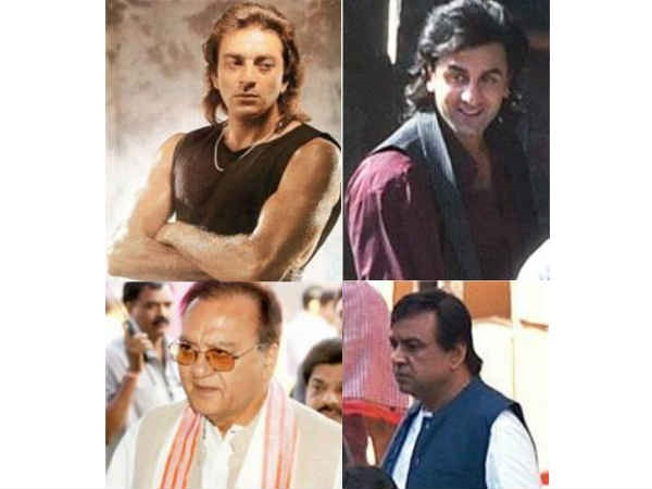 FROM REAL TO REEL: First Look Of Ranbir Kapoor As Sanjay Dutt & Paresh Rawal As Sunil Dutt!