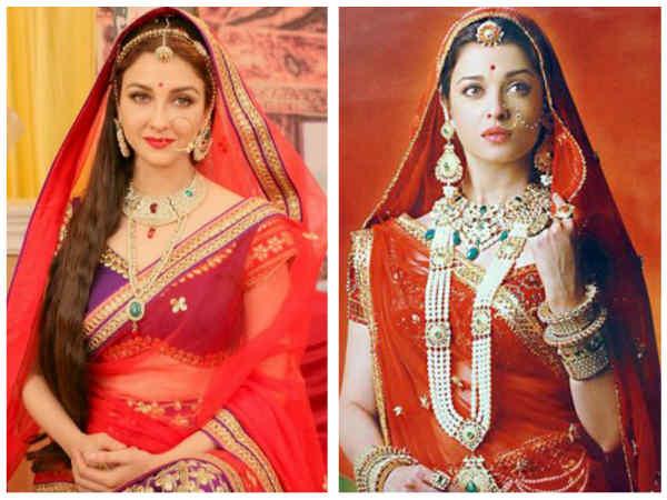Saumya Tandon Looks Gorgeous In Aishwarya Rai Bachchan's Jodha Avatar!
