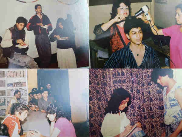 FLASHBACK: These Rare Pics Of Shahrukh Khan From The Sets Of Fauji Will Transport You Back In Time!