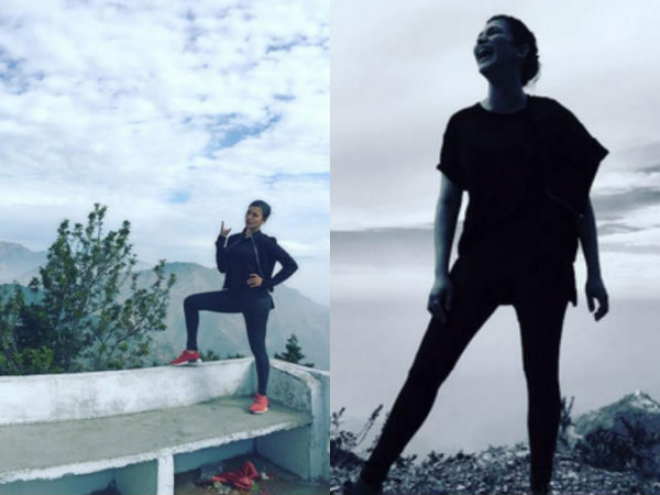 Shruti Haasan Is On Top Of The World, Holidays In Rishikesh!