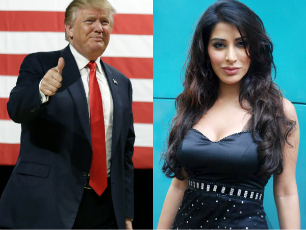 Donald Trump Sophie Choudry