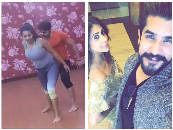 Monalisa & Vikrant Rehearse For Nach Baliye 8; Suyyash & Kishwer Not Doing The Show!